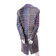 10/12 Christian Lacroix vintage plaid skirt suit