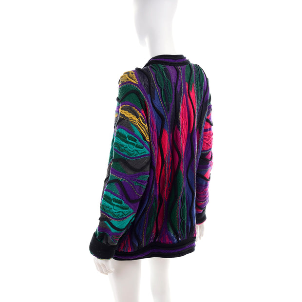 1990s Vintage Coogi Abstract Sweater