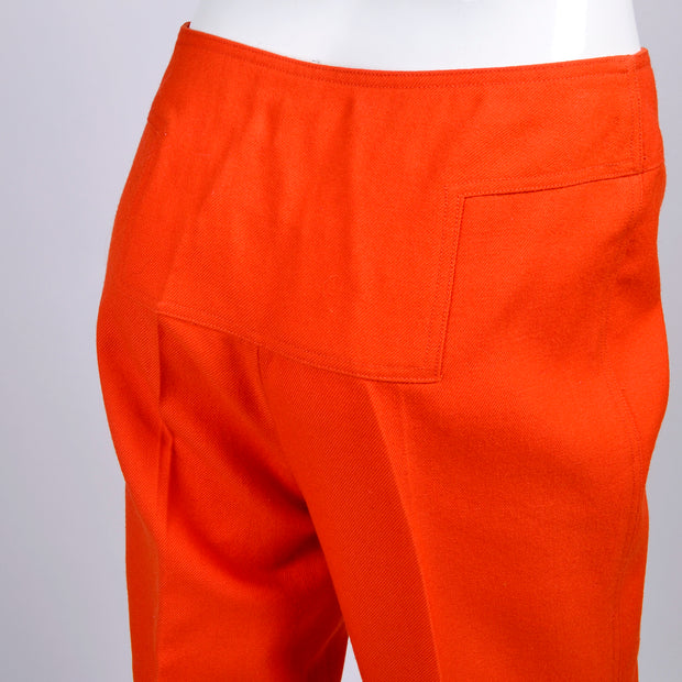 Vintage Courreges Orange Pants