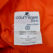 Courreges Orange Wool Vintage Trousers Pants