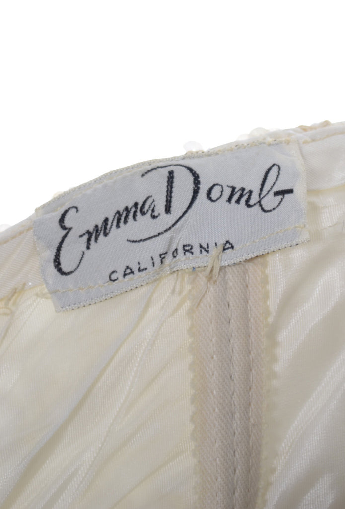 Emma Domb vintage gown