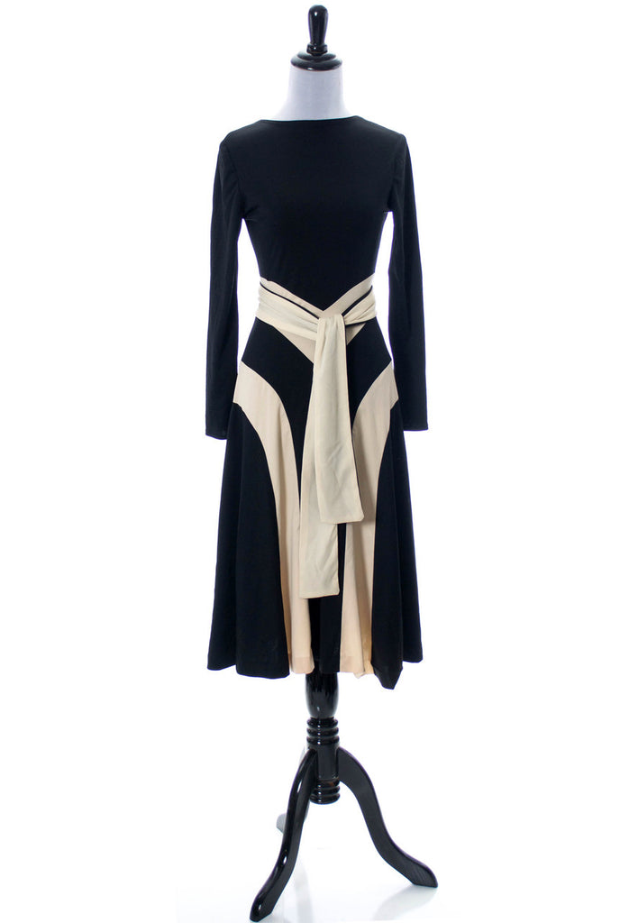 Young Edwardian vintage 1970s jersey knit dress SOLD