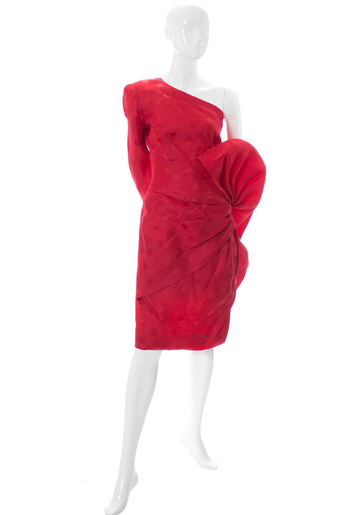 Vintage red Fernando Pena dress