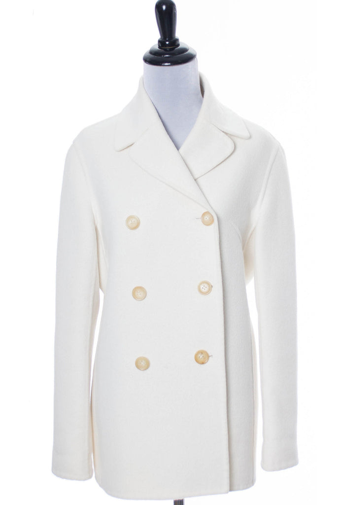 White Wool Celine vintage jacket