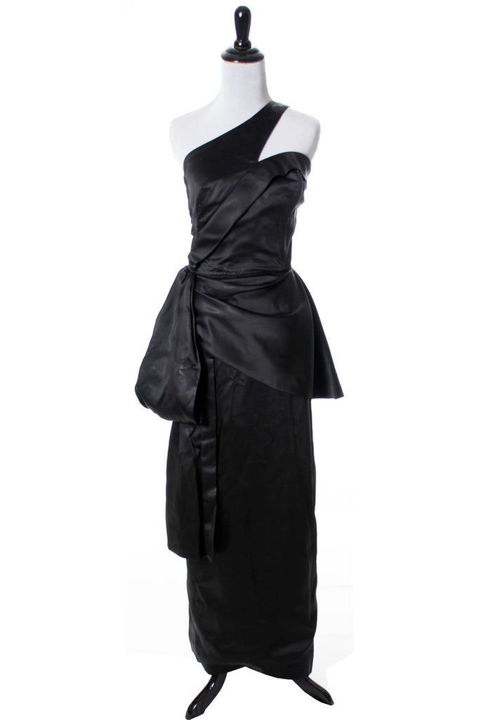 Emma Domb black vintage long dress