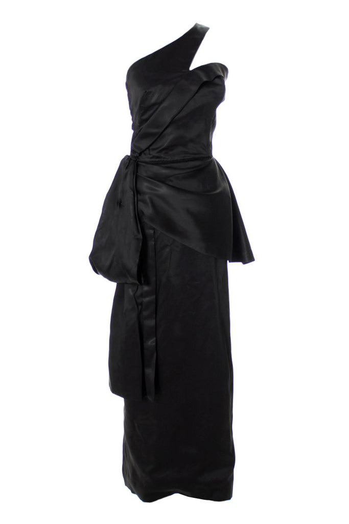 Emma Domb vintage black evening gown