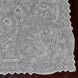 vintage appenzell embroidered handkerchief