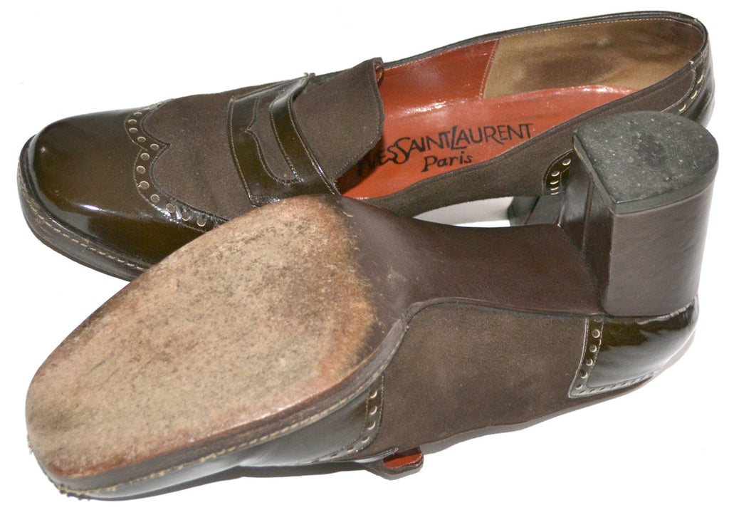 1970s vintage shoes YSL paris