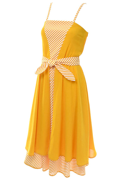 Deadstock Lanvin Marigold Sun Dress