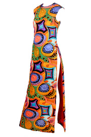 Dynasty multi colored maxi dress