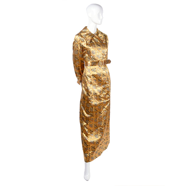 Metallic Dynasty Dress Long Sleeves