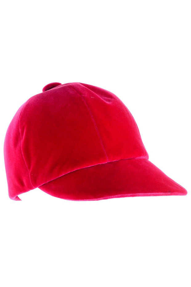 Velvet riding cap by Emme