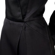 Geoffrey Beene Vintage Black Dress W/ Origami Folds & Styling