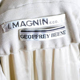 I. Magnin Geoffrey Beene Vintage Dress Tags