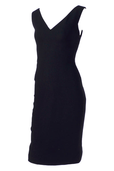 F/W 1995/96 Gianni Versace Couture Little Black Dress Deadstock