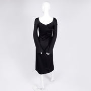 Gianni Versace Couture A/H 1998/99 vintage black dress