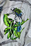 Gilbert Adrian novelty print dress vintage rare