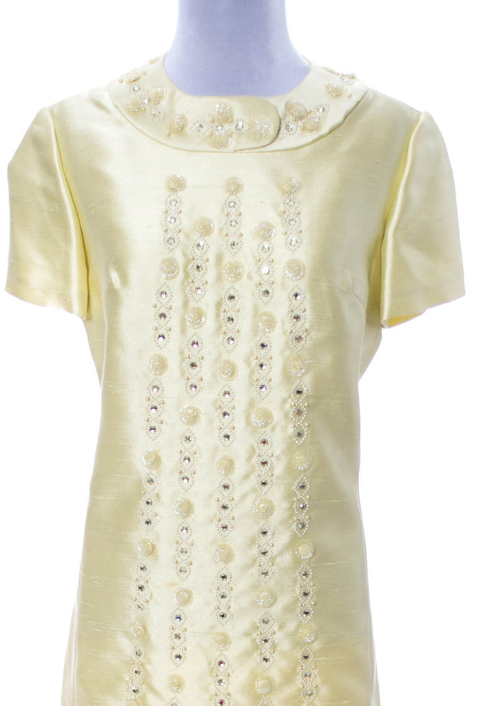 Gino Rossi 1960s vintage beaded dress