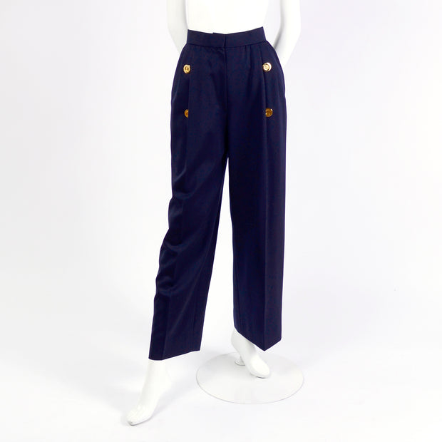 High waisted Givenchy vintage pants