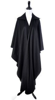 Bergdorf Goodman 1970's Givenchy Vintage Wool Cape Style Wrap - Dressing Vintage