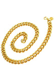 Vintage Givenchy thick gold chain necklace