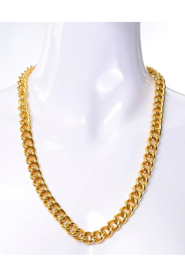 Gold Givenchy chain necklace 24""