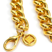 Logo on clasp of Givenchy designer gold vintage jewelry