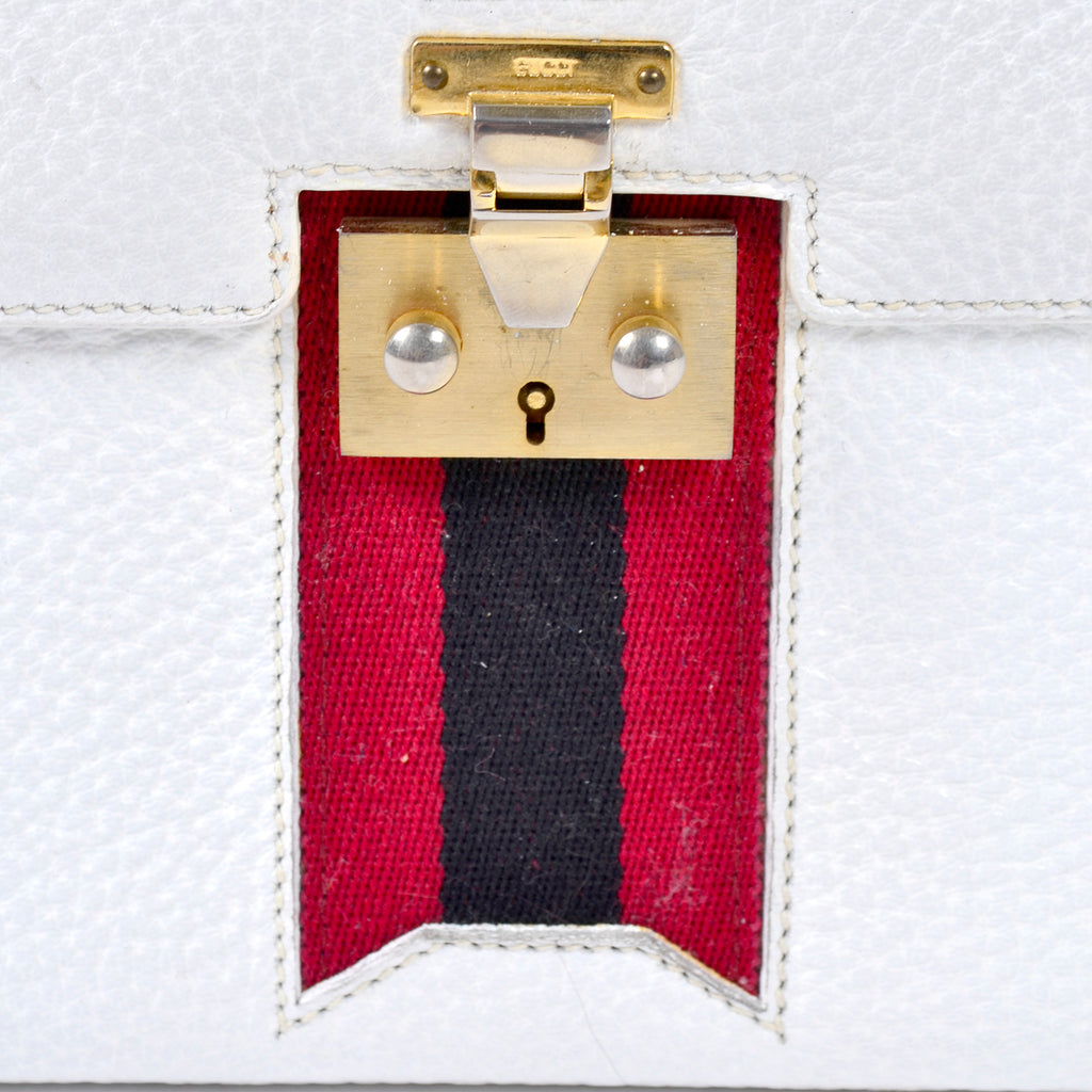 Gucci padlock and saddle girth web