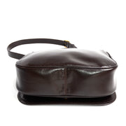 Brown Leather Vintage Gucci Handbag Shoulder Bag New w/ Tags