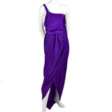 Vintage Halston Purple Dress