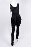 Vintage drop crotch jumpsuit
