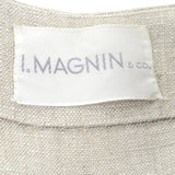 Private Listing I Magnin fine linen ensemble 1960s