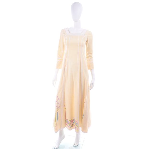 Josefa 1970s Vintage Cotton Dress