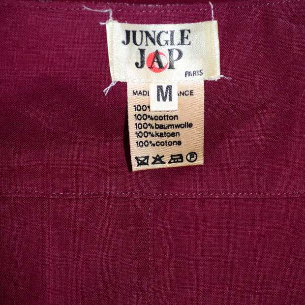 Kenzo Jungle Jap Paris Early Label Vintage Red Vest