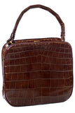 Koret alligator handbag vintage purse at Dressing Vintage