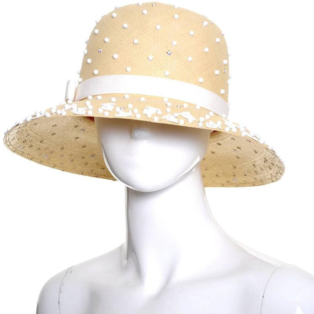 Tom Hann Vintage Kurt Jr. Straw Hat New Tags