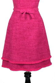 Perfect Hot pink vintage Lanz of Salzburg dress - Dressing Vintage