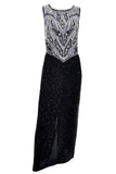 Laurence Kazar Beaded Vintage Dress