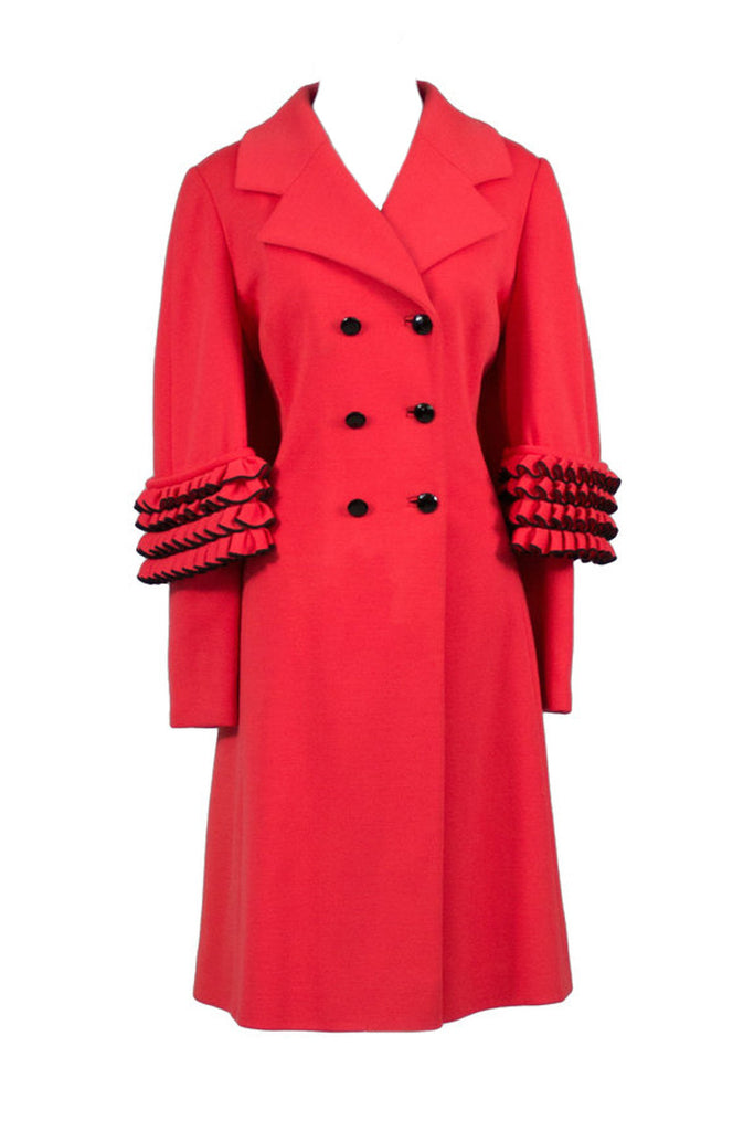 Vintage Lilli Ann red coat