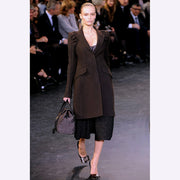2010 Marc Jacobs for Louis Vuitton Runway Wool Coat