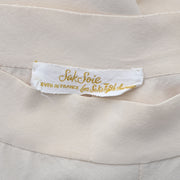 1940s Made in France Vintage silk pajamas Saks Fifth Avenue Soie