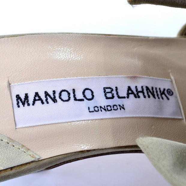1980's Manolo Blahnik London Label