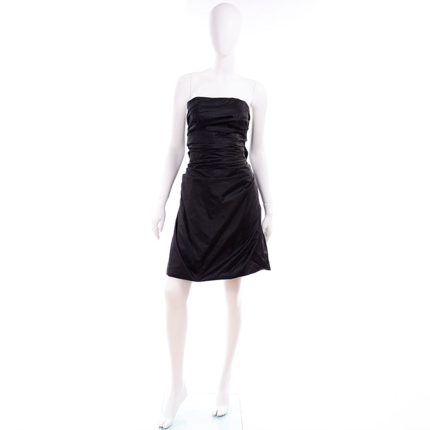 Marc Jacobs strapless dress with bows in back