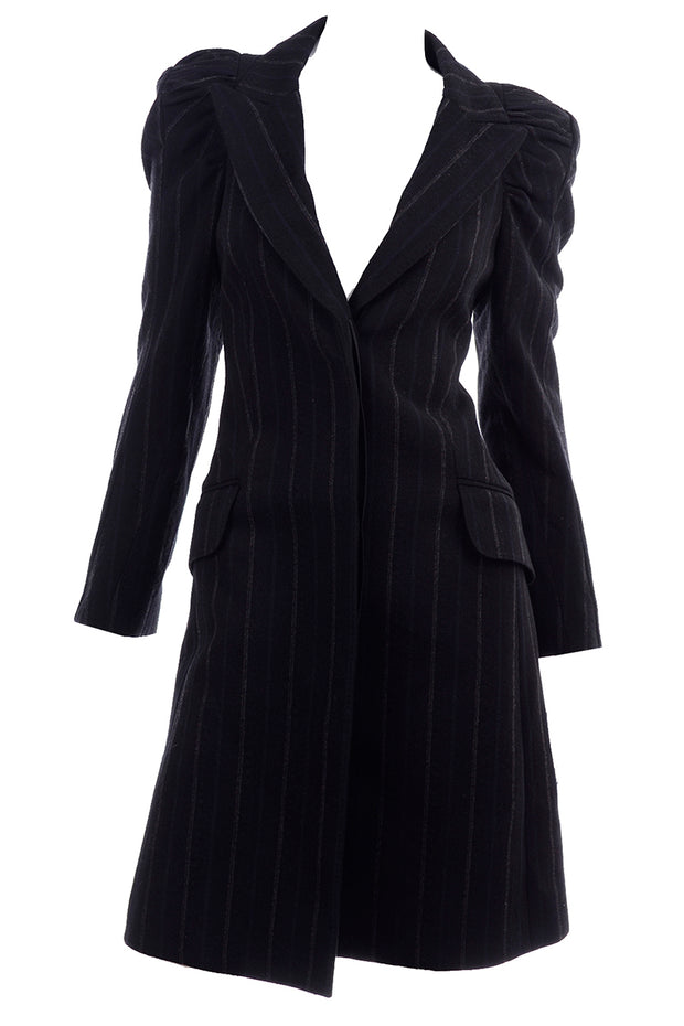 Marc Jacobs for Louis Vuitton Pinstripe Coat