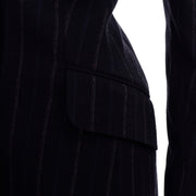 Marc Jacobs for Louis Vuitton Runway Pinstripe Coat