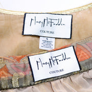 1970's Mary McFadden Couture Label