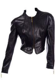 Michael Hoban North Beach Leather Vintage Black Jacket