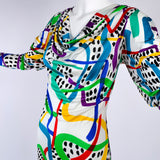 Missoni New With Tags Silk Vintage Dress