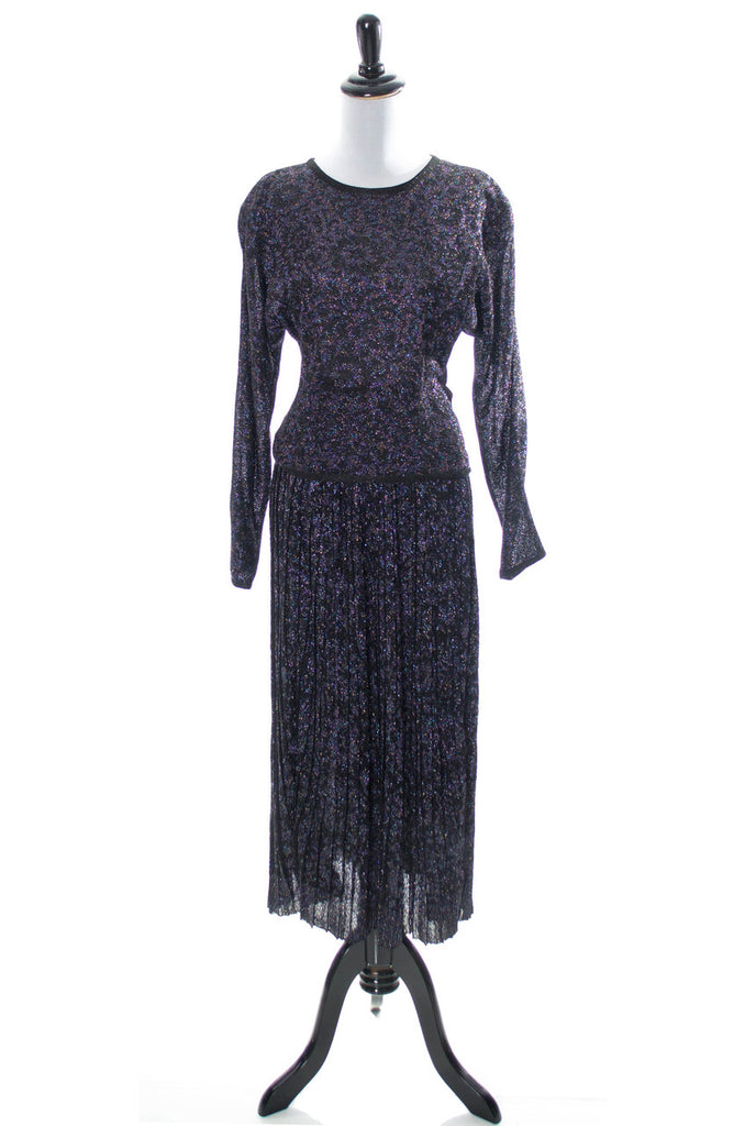 Vintage Missoni sparkle party skirt and top - Dressing Vintage