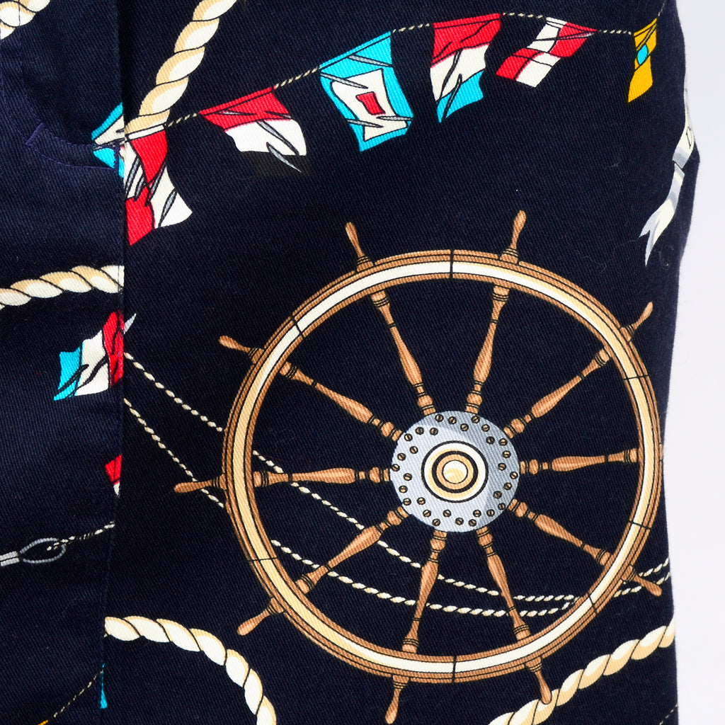 Novelty Mondi Jacket and Skirt with Sailing Motief